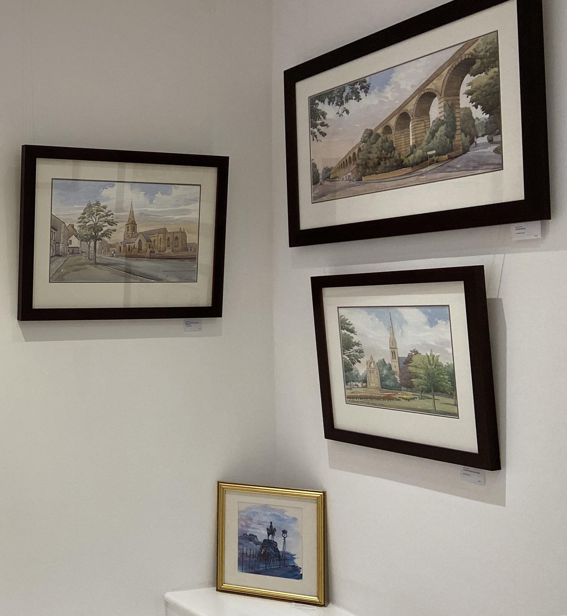 Jeff Lockey - prints of original watercolours, various frames