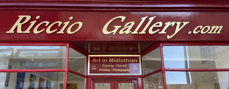 Riccio Gallery - freshly painted for 26 April 2021!